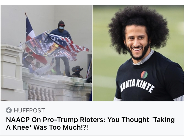And You Thought Taking A Knee Was Too Much